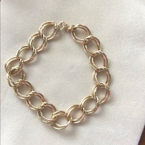 """Gold chain necklace 17"""" from Banana Republic"""
